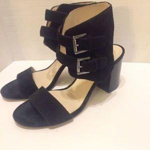 Nine West Galiceno Ankle Strap Sandals Black 7.5